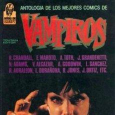 Cómics: ANTOLOGIA DE LOS MEJORES COMICS DE VAMPIROS : OBRA COMPLETA EN 2 TOMOS: TOUTAIN. Lote 102472635