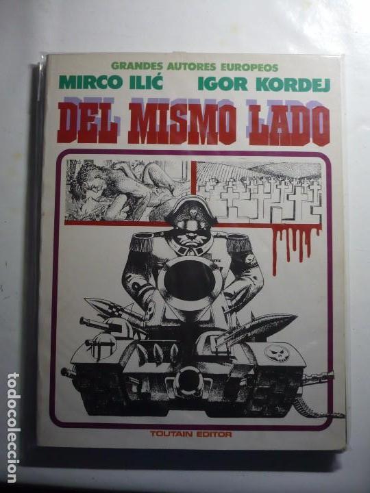 DEL MISMO LADO - (TOUTAIN). (Tebeos y Comics - Toutain - Álbumes)