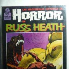 Cómics: LAS MAGISTRALES HISTORIAS DE HORROR DE RUSS HEATH (TOUTAIN).. Lote 103247107