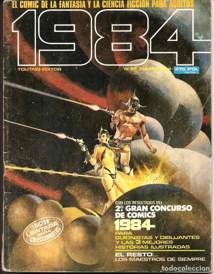 COMIC 1984 - TOUTAIN ED. - Nº 62 (MARZO 1984) (Tebeos y Comics - Toutain - 1984)