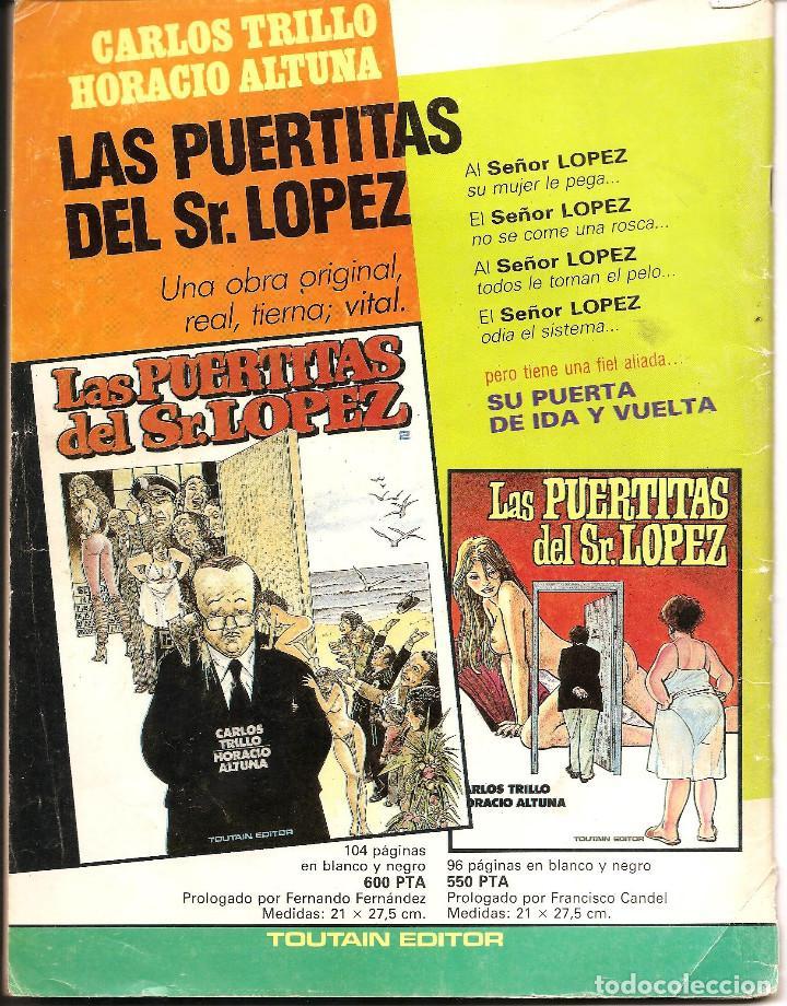 Cómics: COMIC 1984 - TOUTAIN ED. - Nº 62 (MARZO 1984) - Foto 2 - 103534451