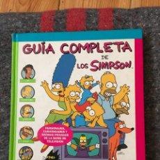 Cómics: GUÍA COMPLETA DE LOS SIMPSON. Lote 103561491