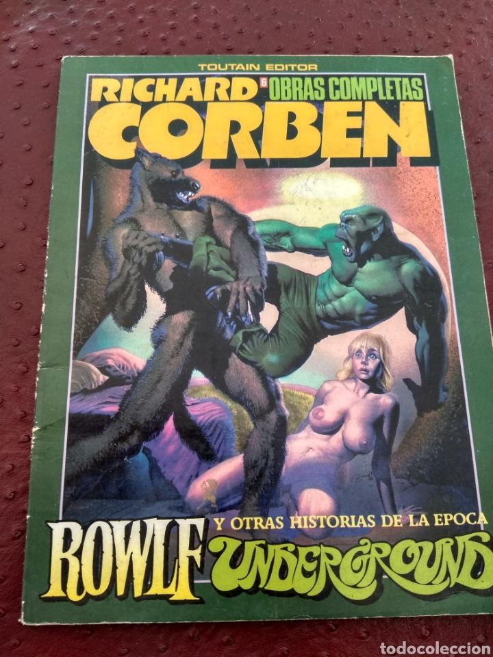 RICHARD CORBEN OBRAS COMPLETAS 6. ROWLF (Tebeos y Comics - Toutain - Álbumes)