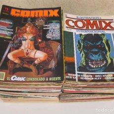 Cómics: COMIX INTERNACIONAL - COLECCIÓN COMPLETA - 70 NÚMEROS DE TOUTAIN + 6 NÚMEROS DE EDICIONES ZINCO.. Lote 103695123