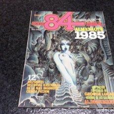 Fumetti: ZONA 84 , ALMANAQUE 1985 - EDITA : TOUTAIN - AÑOS 80. Lote 103815559