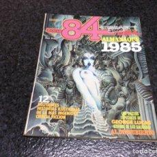 Cómics: ZONA 84 , ALMANAQUE 1985 - EDITA : TOUTAIN - AÑOS 80. Lote 103815579