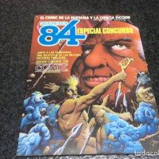 Cómics: ZONA 84 + COMIX INTERNACIONAL . ESPECIAL CONCURSO - EDITA : TOUTAIN. Lote 103815667