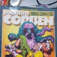 Cómics: RICHARD CORBEN OBRAS COMPLETAS 5 UNDERGROUND 2 DIFICIL. Lote 103855559