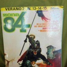 Cómics: ZONA 84 VERANO Nº 2 . RETAPADO CON NUMEROS 13,14 Y 15. Lote 104019831