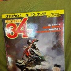 Cómics: ZONA 84 VERANO Nº 2 . RETAPADO CON NUMEROS 20,21 Y 22. Lote 104019995