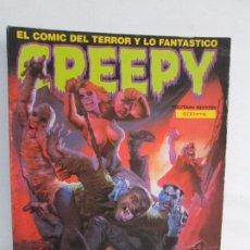 Cómics: CREEPY. EL COMIC DEL TERROR Y LO FANTASTICO. NUM 69-70-71-72. TOUTAIN EDITOR 1985. VER FOTOS. Lote 104716283