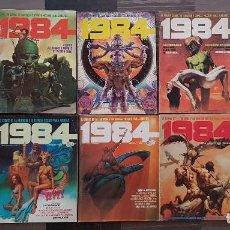 Cómics: COLECCIÓN 1984. LOTE DE 10 TOMOS (5-11-14-15-17-20-32-33-43 Y ALMANAQUE 1980). TOUTAIN EDITOR 1978. Lote 104977003