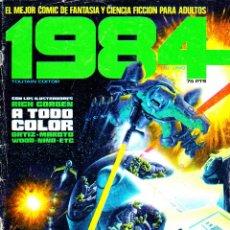 Cómics: 1984. 61 DE 64 NUMEROS + 3 ALMANAQUES. 1978 TOUTAIN EDITOR. Lote 105365279