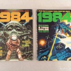 Cómics: 1984 - Nº1 Y Nº53 (ED. COLECCIONISTAS). Lote 105707315