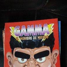 Cómics: GAMMA EL HOMBRE DE HIERO 11 TOMOS COMPLETA. Lote 105963463