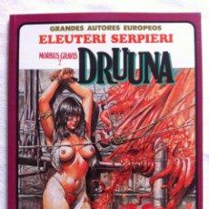Cómics: DRUUNA MORBUS GRAVIS 2 - PAOLO ELEUTERI SERPIERI - TOUTAIN EDITOR. Lote 106043775