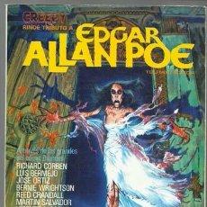 Cómics: CREEPY RINDE TRIBUTO A EDGAR ALLAN POE, 1980, TOUTAIN, BUEN ESTADO. Lote 226648575