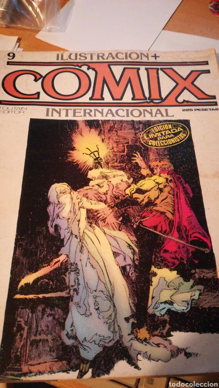 COMIX INTERNACIONAL NÚMERO 9 (Tebeos y Comics - Toutain - Comix Internacional)