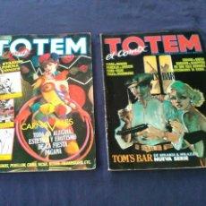 Cómics: TOTEM EL COMIX, LOTE N 5 Y 31, TOUTAIN EDITOR.. Lote 107965298