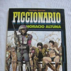 Cómics: FICCIONARIO - HORACIO ALTUNA - EDITORIAL TOUTAIN 4 HISTORIAS EXTRAS A COLOR. Lote 108026411
