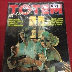 Cómics: TOTEM EL COMIX NUMERO 31 BUEN ESTADO REF.34B. Lote 109229451