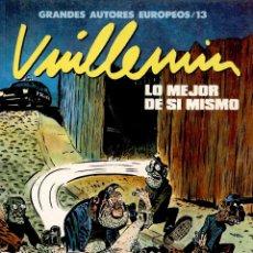 Cómics: VUILLEMIN: LO MEJOR DE SÍ MISMO (TOUTAIN, 1990). Lote 109358979