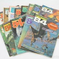 Cómics: LOTE DE 14 REVISTAS / CÓMICS CIENCIA FICCIÓN ZONA 84 - AÑOS 80 - ED. TOUTAIN. Lote 109439703