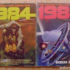 Cómics: LOTE DE 2 COMICS, 1984, NÚMEROS 37 Y 40, TOUTAIN EDITOR, SANJULIÁN. Lote 109487167