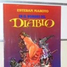 Cómics: EN EL NOMBRE DEL DIABLO ESTEBAN MAROTO - TOUTAIN - OFERTA. Lote 128721940