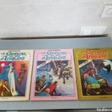 Cómics: EL SEÑOR DE LOS ANILLOS TOUTAIN 3 VOL. COMPLETA 1980 MUY DIFÍCIL ASÍ. LA PELICULA. Lote 109916951