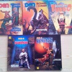Cómics: DEN - RICHARD CORBEN - 5 COMIC COMPLETA - TOUTAIN-ZINCO - 1991. Lote 110574507