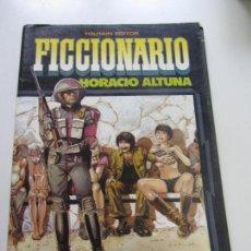 Cómics: FICCIONARIO - HORACIO ALTUNA - EDITORIAL TOUTAIN 4 HISTORIAS EXTRAS A COLOR C89SADUR. Lote 110736711