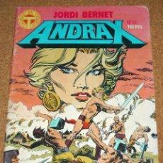 Cómics: ANDRAX Nº 12 ÚLTIMO - BERNET - TOUTAIN 1988 - LEER. Lote 111381139
