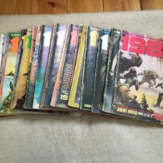 Cómics: LOTE REVISTA 1984 - 21 NÚMEROS. Lote 111489619