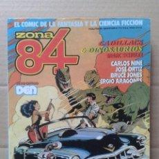 Cómics: ZONA 84: RETAPADO CON LOS NÚMEROS 71, 72 Y 73. DIEZ HISTORIAS COMPLETAS. TOUTAIN EDITOR.. Lote 111575852