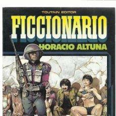 Cómics: FICCIONARIO, 1985, TOUTAIN, BUEN ESTADO. Lote 159030112