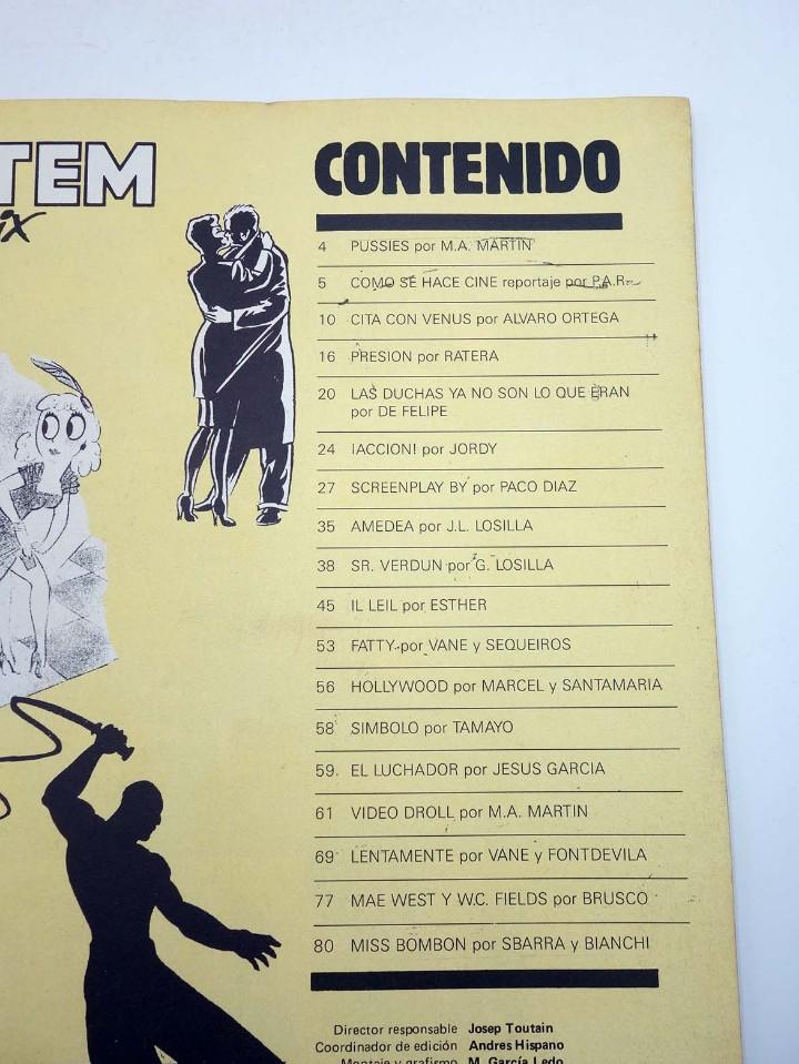 Cómics: TOTEM EL COMIX 39 51 57 65 66. LOTE DE 5 NºS (VVAA) Toutain, 1987. OFRT - Foto 9 - 147678150