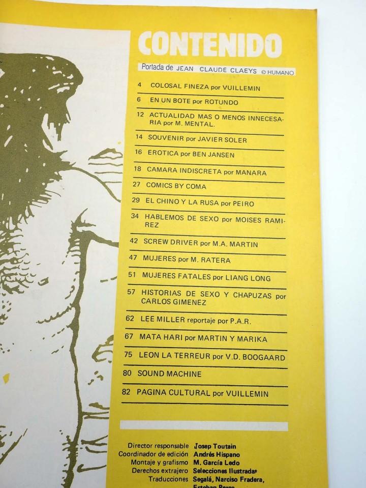 Cómics: TOTEM EL COMIX 39 51 57 65 66. LOTE DE 5 NºS (VVAA) Toutain, 1987. OFRT - Foto 13 - 147678150