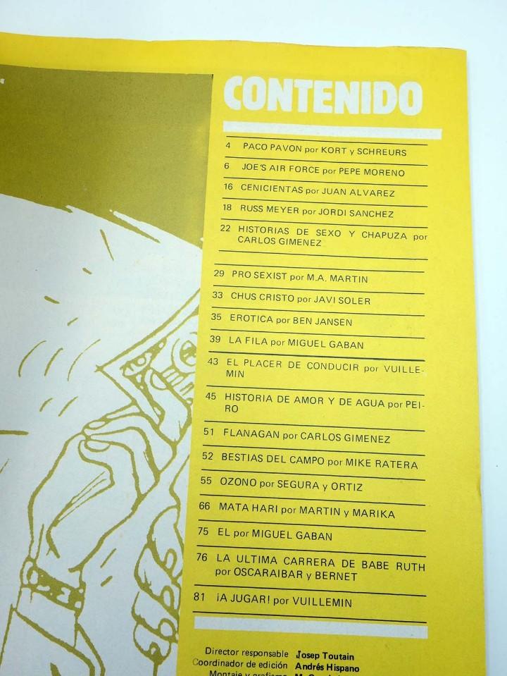 Cómics: TOTEM EL COMIX 39 51 57 65 66. LOTE DE 5 NºS (VVAA) Toutain, 1987. OFRT - Foto 14 - 147678150