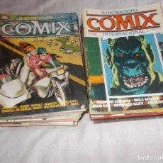 Cómics: COMIX INTERNACIONAL 71 NÚMEROS. Lote 112771991