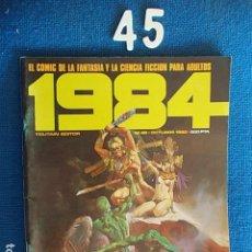 Cómics: COMIC 1984 Nº 45. Lote 113225191