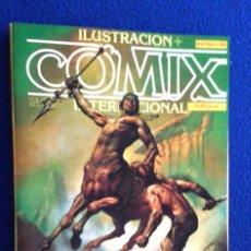 Cómics: ILUSTRACIÓN + COMIX INTERNACIONAL - RETAPADO CON LOS Nº 33-34-35. Lote 113563943