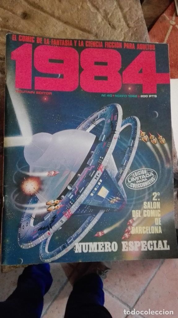 LOTE DE 3 NUMEROS 1984 (Tebeos y Comics - Toutain - 1984)