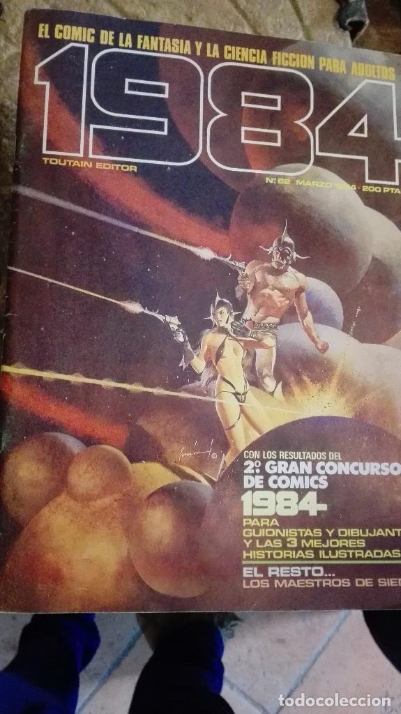 Cómics: lote de 3 numeros 1984 - Foto 3 - 113576091