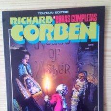 Cómics: OBRAS COMPLETAS 4 - LA CAIDA DE LA CASA USHER Y OTROS RELATOS - RICHARD CORBEN - 1985. Lote 113705643