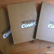 Cómics: HISTORIA DE LOS COMICS TOMOS 1 A 4 (COMPLETA) DE JAVIER COMA Y OTROS (TOUTAIN EDITOR)1984. Lote 113881523
