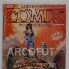Cómics: COMIX INTERNACIONAL Nº 20 - TOUTAIN EDITOR. Lote 114256343