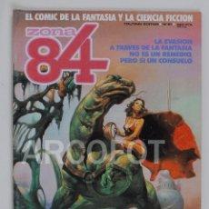 Cómics: ZONA 84 Nº 21 - TOUTAIN EDITOR. Lote 114340499