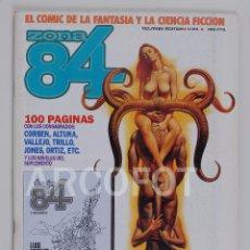 Cómics: ZONA 84 Nº 64 - CON 2º SUPLEMENTO FORJA 84 -TOUTAIN EDITOR. Lote 114341187