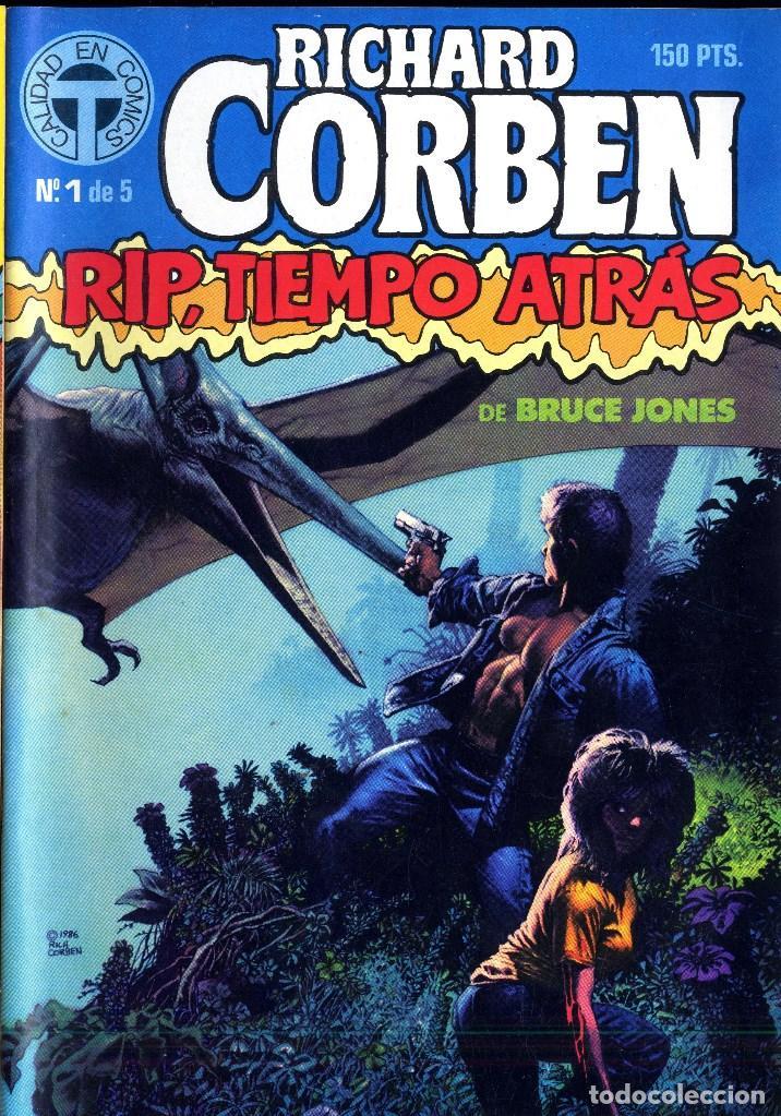RIP TIEMPO TRAS CORBEN/ BRUCE JONES VARIOS PREMIOS HAXTUR (5 NºS) TOUTAIN 1988 BIL ISA (Tebeos y Comics - Toutain - Obras Completas)